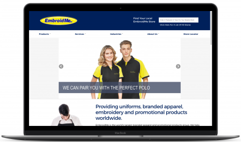 EmbroidMe New Zealand - Magento website by Millionleaves