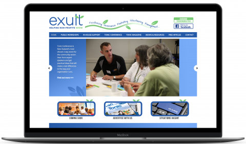 Exult NZ - WordPress development and hosting by Millionleaves