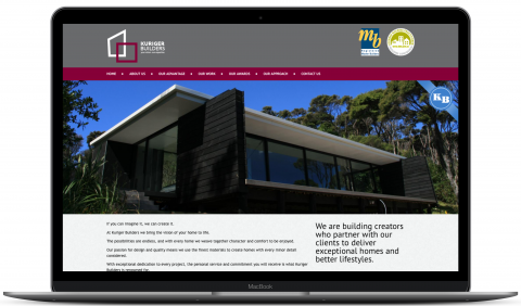 Kuriger Builders - website by Millionleaves