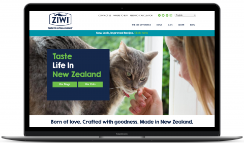 Ziwipets - ecommerce website by Millionleaves